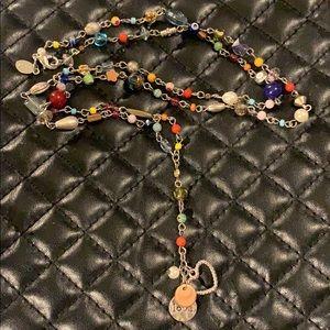 AEO Boho Mixed Bead Long Necklace